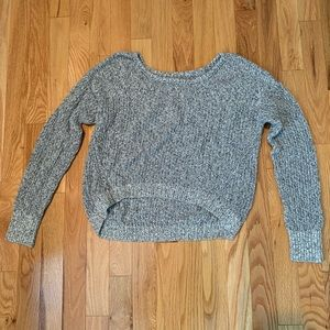 Grey Cropped Sweater from American Eagle